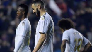 Real Madrid thất bại sốc trước Levante ở trận cầu rạng sáng 23.2, vòng 25 La Liga và qua đó mất ngôi đầu bảng vào tay Barcelona. Hàng công nhạt nhòa không thể...