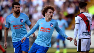 Win Atletico Madrid temporarily moved into second in La Liga after Antione Griezmann's controversial late winner handed Los Rojiblancos an arguably undeserved...