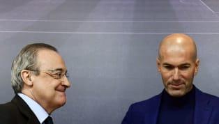Ba nhân vật cấp caoReal Madridgồm Zinedine Zidane, chủ tịch Florentino Perez và Jose Angel Sanchez sắp bước vào một cuộc họp thượng đỉnh quyết định một...