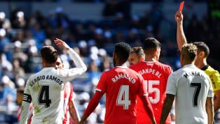 Sergio Ramos hiện đang 'vô đối' về số thẻ đỏ trong năm giải đấu hàng đầu Châu Âu sau khi bị đuổi khỏi trận thua Girona chiều tối 17/2 vừa qua. Sáng tỏ khả...
