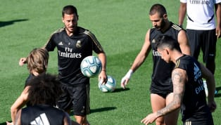 ning Real Madrid players Eden Hazard, Brahim Diaz and James Rodriguez all returned to training this week, as Zinedine Zidane prepares for Saturday's clash...