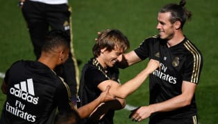 Luka Modric and Gareth Bale have been left of Real Madrid's squad for theirChampions Leagueclash with Galatasaray. The duo also missed Saturday'sLa...