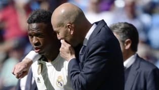 """Real Madridstarlet, Vinicius Junior has revealed that he was nervous when his """"idol"""" Zinedine Zidane returned back as manager following the sacking of..."""