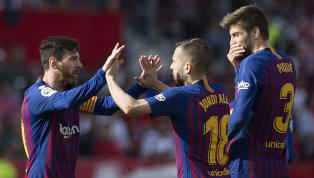 Win Lionel Messi netted his 50th career hat-trick to help Barcelona overcome Sevilla 4-2 in La Liga on Saturday and open up a ten-point lead at the top....