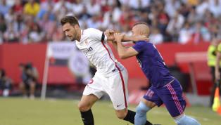  🚨 Once del #SevillaFC 🆚 @RCCelta 👇 Vaclík - Jesús Navas, Diego Carlos, Carriço, Reguilón - Fernando, Banega, Jordán, Nolito, Munir - de Jong....