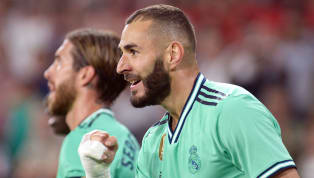 A second half header from Karim Benzema ease the pressure on Zinedine Zidane, and ensured Real Madrid moved level on points at the top of La Liga with a...