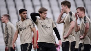​Ajax manager Erik ten Hag has revealed the club are still waiting on the fitness of Frenkie de Jong ahead of their Champions League quarter-final second leg...
