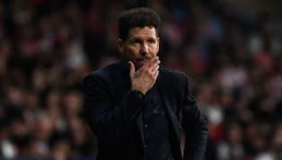 Simeone compareció ante los medios en la rueda de prensa previa al derbi madrileño que enfrentará alAtlético de Madridcontra elReal Madriden el Wanda...
