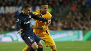 """Alors que le prochain mercato commence déjà à faire parler, un """"échange"""" entre Neymar et Antoine Griezmann pourrait faire partie des gros dossiers de l'été...."""
