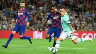 Matchday Dua Grup F Champions League Barcelona 2-1 Inter Milan Camp Nou Inter Milan gagal mempertahankan keunggulan saat unggul 1-0 via gol Lautaro Martinez...