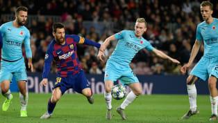 El FC Barcelona fue incapaz de rebasar la línea defensiva del Slavia de Praga. Tuvo la posesión e intentó generar peligro, pero le fue imposible ir más allá....