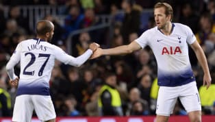 Tottenham Hotspur's Lucas Moura has suggested that Harry Kane may be fit to return to the side for the second leg of their Champions League semi-final...