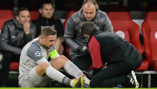 Liverpool midfielder Jordan Henderson suffered a twisted ankle in the Reds' famous 3-1 win over Bayern Munich on Wednesday night, and Jurgen Klopp admitted...