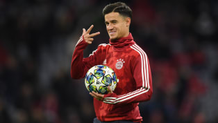 ​Bayern Munich will pay a total of €33.5m to Barcelona for the duration of Philippe Coutinho's loan at the Allianz Arena. Having struggled to impress in...