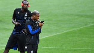 """Galatasaray'ın sezon başında Club Brugge'e kiraladığı Mbaye Diagne dikkat çekici paylaşımlarına bir yenisini ekledi. Senegalli santrfor, eşiyle """"Lingo lingo..."""