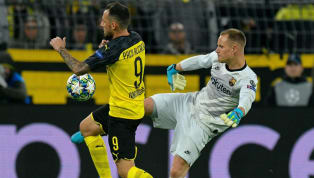 Matchday Satu Grup F Champions League Borussia Dortmund 0-0 Barcelona Signal Iduna Park Pertandingan pertama grup F Champions League antara Borussia Dortmund...
