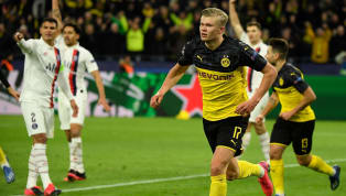 tage Borussia Dortmund picked up a 2-1 win in the first leg of their Champions League last 16clash against Paris Saint-Germain, with Erling Haaland scoring...
