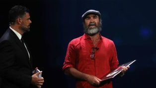 Manchester Unitedlegend, Eric Cantona was honoured with theUEFA's President Awardfor his stellar work and commitment to charity and other causes...