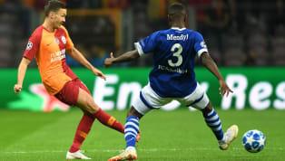Galatasaray'ın, Ziraat Türkiye Kupası'nda Evkur Yeni Malatyaspor'u 5-2 mağlup ettiği yarı final turu rövanş karşılaşmasında forma giyen Martin Linnes,...