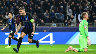 arça Mauro Icardi scored a late equaliser for Inter as the home side drew 1-1 with Barcelona at San Siro on Tuesday. Malcom's opener - and first for Barça...