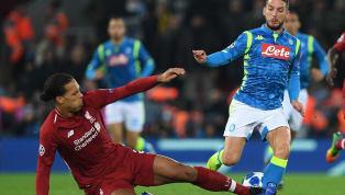 'Virgil van Dijk Should've Been Sent off for his Challenge on Dries Mertens,' Claims Carlo Ancelotti