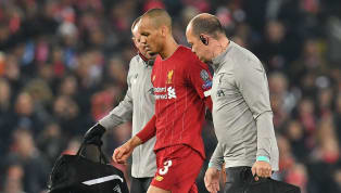 ​Liverpool midfielder Fabinho will be out of action until the New Year as a result of ankle ligament damage suffered during Wednesday night's 1-1 Champions...