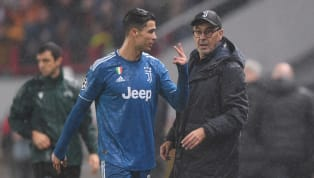 Huấn luyện viên Juventus Maurizio Sarri lý giải Cristiano Ronaldo không hề giận dữ vì bị thay ra ở trận đấu Champions League gặp Lokomotiv Moscow khuya 6.11...