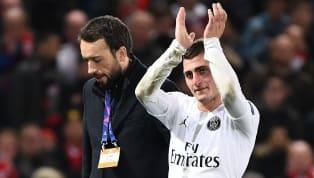 Mantan pemainManchester Uniteddi medio 2008-2012, Dimitar Berbatov, sepertinya sangat terpukau dengan penampilan dari pemain Paris Saint-Germain, Marco...