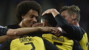 echs Borussia Dortmund had Achraf Hakimi's stunning solo goal and calm second to thank after Slavia Prague missed a series of fine chances to leave the Sinobo...