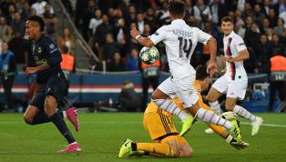 UEFA Şampiyonlar Ligi A Grubu'nda ilk haftanın dev randevusunda Paris Saint-Germain, kendi evinde Real Madrid'i 3-0 mağlup etti. Fransız ekibine galibiyeti...