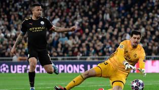 Isco sempat membuat Madrid unggul lebih dulu:  Sebelum Gabriel Jesus dan Penalti Kevin de Bruyne bawa Man City unggul: Kedudukan sementara saat ini 2-1...