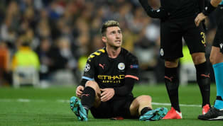 ​Manchester City will be without Aymeric Laporte for up to a month after the Frenchman suffered a hamstring strain during the midweek win over Real Madrid....