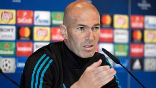 Zinedine Zidane comparece en la rueda de prensa previa al partido de Liga entre elReal Madridy el Celta de Vigo que se disputará el sábado, a las 16:15,...