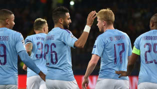 aine ​Riyad Mahrez and Ilkay Gundogan ran the show as Manchester City won their first Champions League match of the season 3-0 at Shakhtar Donetsk. The Sky...