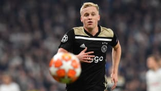 ​Tottenham have identified Ajax midfielder Donny van de Beek as a replacement for Christian Eriksen, should the Dane decide to leave the club in the summer,...