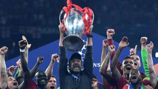 2018-2019 sezonunda Şampiyonlar Ligi şampiyonu Liverpool olurken, Liverpool'un Alman teknik direktörü Jürgen Klopp, üst üste kaybettiği 6 finalden sonra mutlu...
