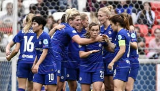 Chelsea kept their chances of reaching a first ever UEFA Women's Champions League final alive after Scottish midfielder Erin Cuthbert bagged an away goal as...