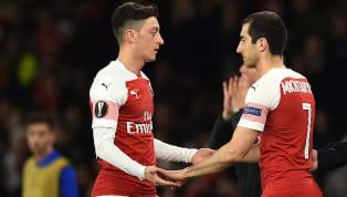 GelandangArsenalasal Armenia Henrikh Mkhitaryan sedang melakukan pembicaraan dengan pihak klubnya terkait keterlibatannya di final Europa League. Demi...