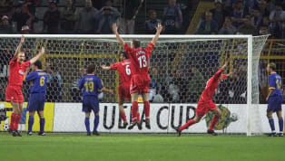 Only one word is needed to describe the 2001 UEFA Cup final between Liverpool and Alaves: chaos. Played at the Westfalenstadion in Dortmund, Liverpool were...