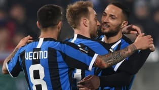 Christian Eriksen scored his first goal for Inter as the Nerazzurri defeated Ludogorets 2-0 in the first leg of the teams' Europa League Round of 32 clash. ...