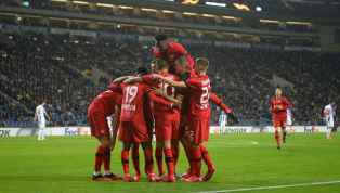 Mit einem tollen Auftritt beim portugiesischen Traditionsklub FC Porto hat Bayer Leverkusenden Einzug ins Achtelfinale der Europa League klar gemacht und...