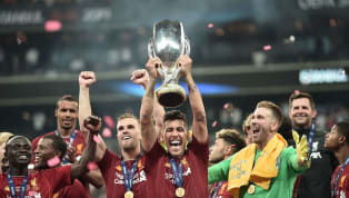 Liverpoolasuhan Jurgen Klopp, berhasil meraih trofi pertamanya di musim 2019/20 usai mengalahkan Chelseadalam ajang UEFA Super Cupmelalui adu drama...