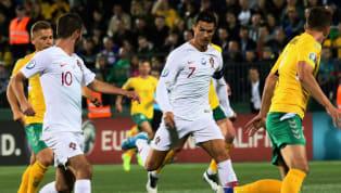 Siêu sao Cristiano Ronaldo đã tỏ ra vô cùng hạnh phúc khi tỏa sáng giúp đội tuyển Bồ Đào Nha hủy diệt Lithuania ở vòng loại Euro 2020 diễn ra vào đêm qua....