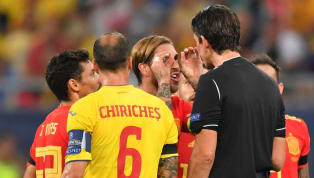 Spain captain Sergio Ramos has said that referee Deniz Aytekin has apologised to him for showing him a yellow card during Spain's narrow 2-1 win over...