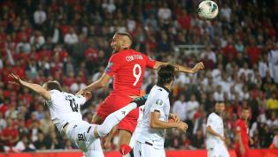 2020 Avrupa Futbol Şampiyonası Elemeleri H Grubu 7. hafta mücadelesinde A Milli Takımımız, Arnavutluk'u 90. dakikada golcü futbolcuCenk Tosun'un attığı...