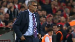 """Arnavutluk maçında bordo-mavi kravat taktığı yönünde gelen eleştirilere cevap veren A Milli Takım Teknik Direktörü Şenol Güneş, """"Fenerbahçe Stadı'nda tüm..."""