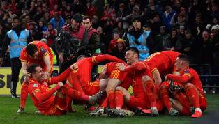 uise Wales have booked their place at next summer's European championship thanks to two goals from Aaron Ramsey in their2-0 win over Hungary. There were also...