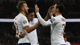 tion England celebrated their 1000th game in style as they ensured qualification into this summer's Euro 2020 tournament with an emphatic 7-0 win over a...