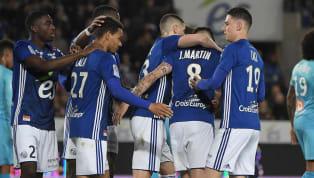 L'Olympique de Marseillepoursuit sa descente aux enfers à Strasbourg... Après une première mi-temps insipide et sans intérêt, Valère Germain a de nouveau...