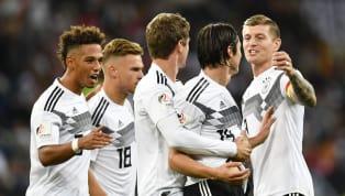 FT:जर्मनी (ब्रांड्ट 25', शल्ज़ 85')2-1 पेरू (एडविनक्यूला 22') डेब्यूटांट निको शल्ज़ द्वारा 85वें मिनट में स्कोर किए गए विनर की बदौलत जर्मनी ने इंटरनेशनल...